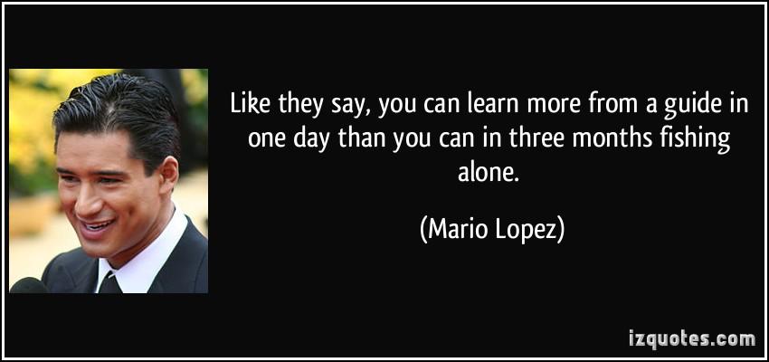 Mario Lopez's quote #2