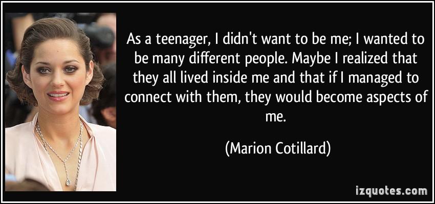 Marion Cotillard's quote #5