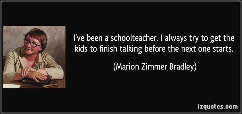 Marion Zimmer Bradley's quote