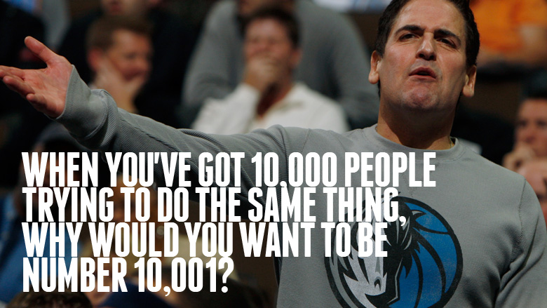 Mark Cuban's quote