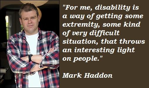 Mark Haddon's quote #3