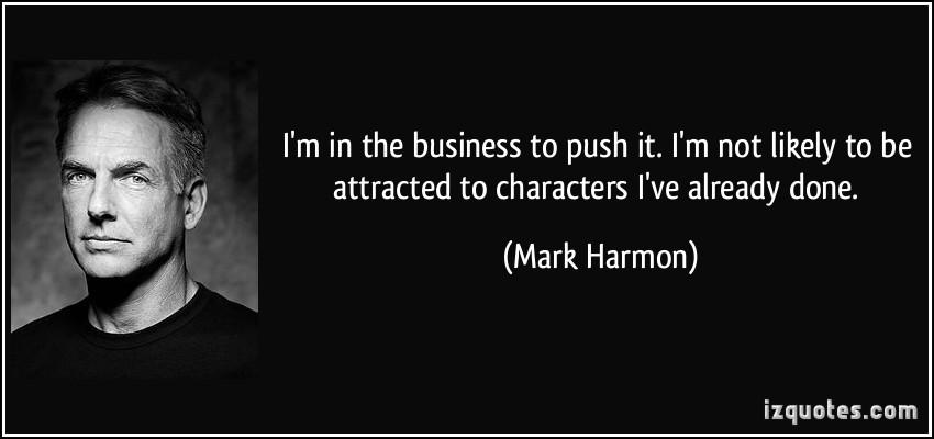 Mark Harmon's quote #1