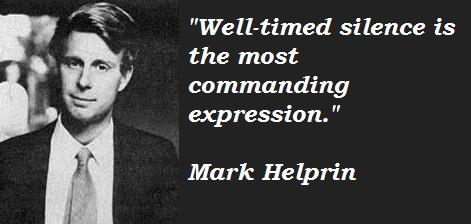 Mark Helprin's quote #4