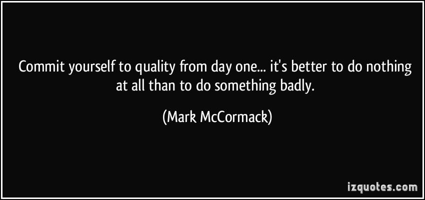 Mark McCormack's quote