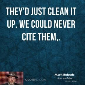 Mark Roberts's quote #3