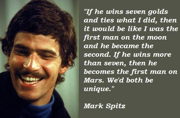 Mark Spitz's quote #3