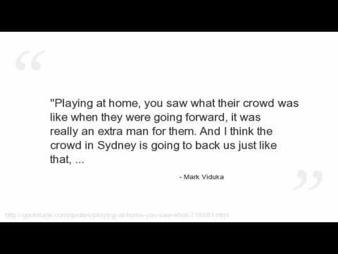 Mark Viduka's quote #3