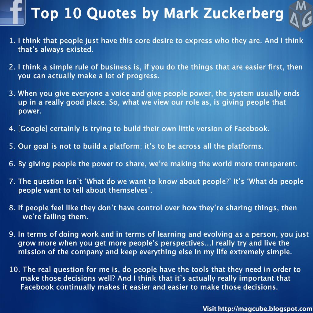 Mark Zuckerberg's quote #5