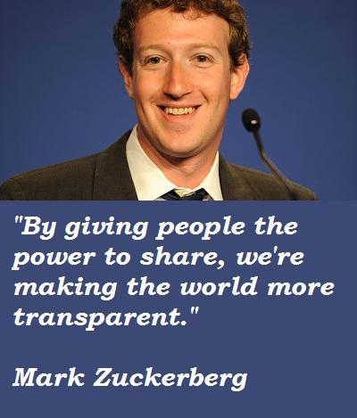 Mark Zuckerberg's quote #3