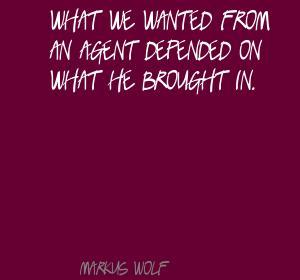 Markus Wolf's quote #3