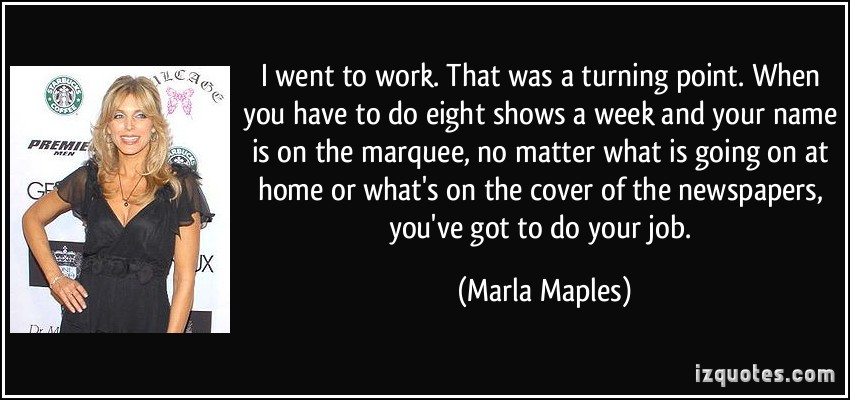 Marla Maples's quote #3