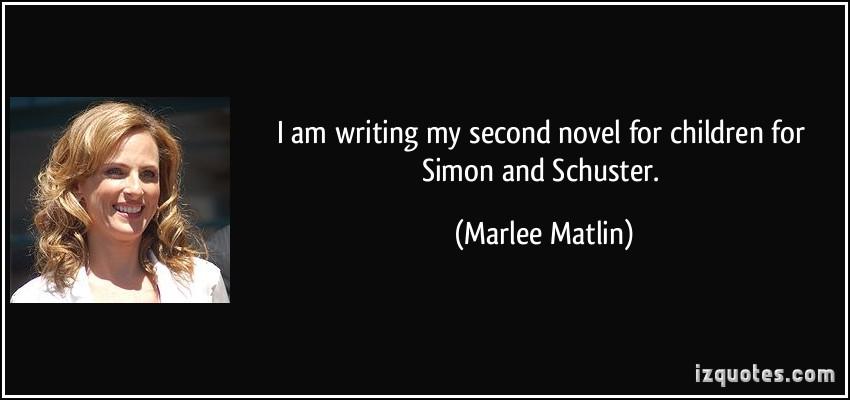 Marlee Matlin's quote #5