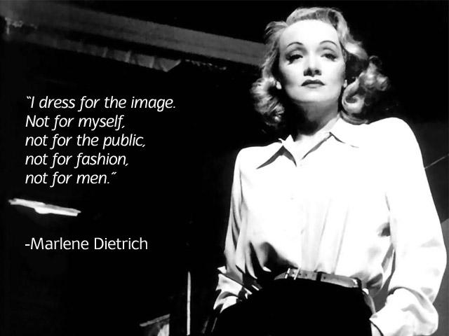 Marlene Dietrich's quote #2