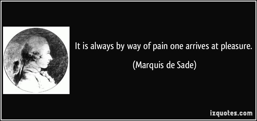 Marquis de Sade's quote #5