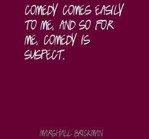 Marshall Brickman's quote #7