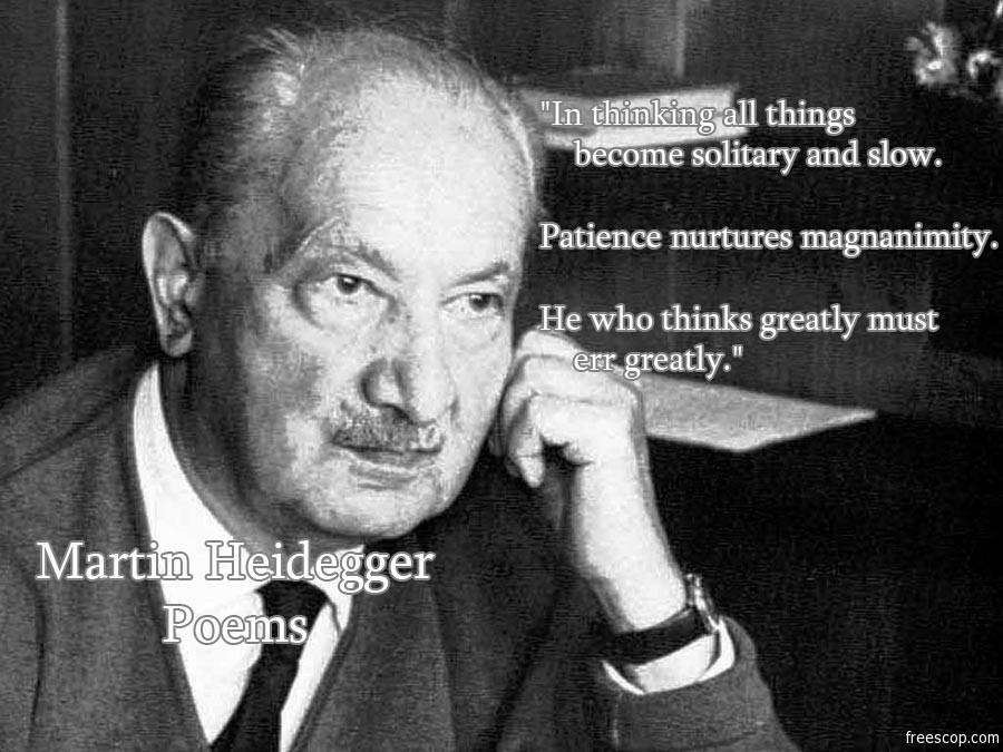 Martin Heidegger's quote #5