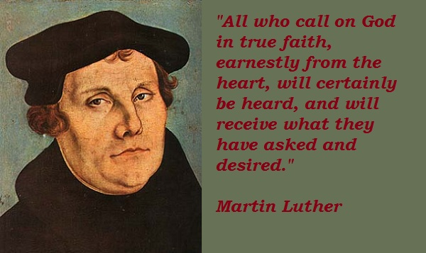 Martin Luther quote #2