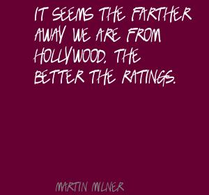 Martin Milner's quote #7