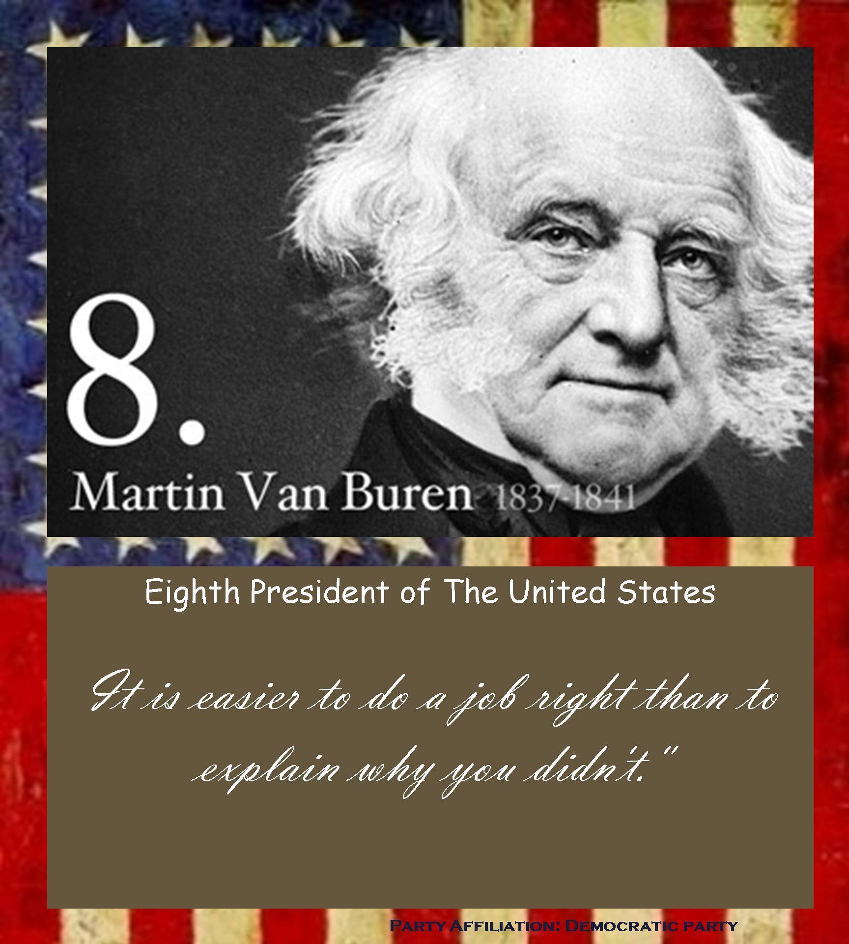 Martin Van Buren's quote #3