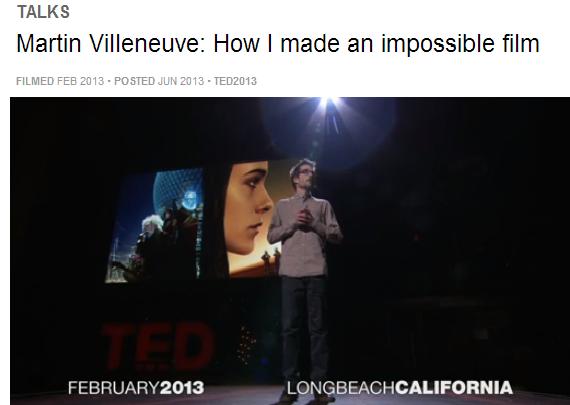 Martin Villeneuve's quote