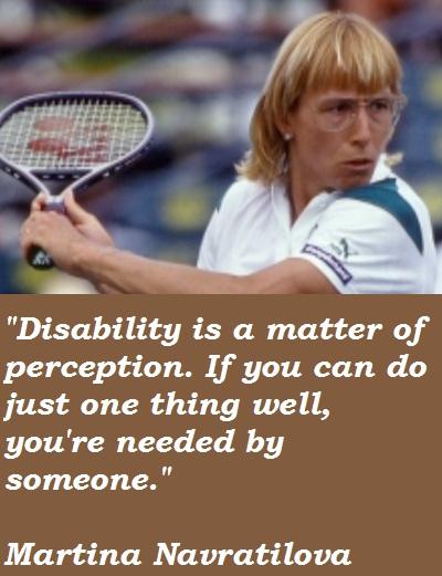 Martina Navratilova's quote #4