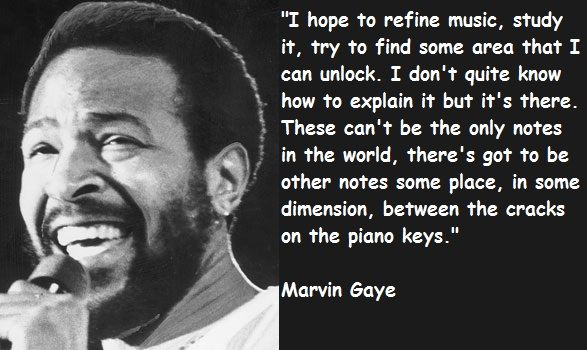 Marvin Gaye's quote #2