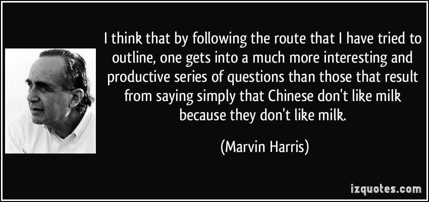 Marvin Harris's quote #3