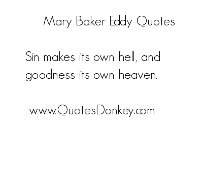 Mary Baker Eddy's quote #5