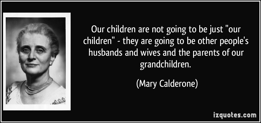 Mary Calderone's quote #1