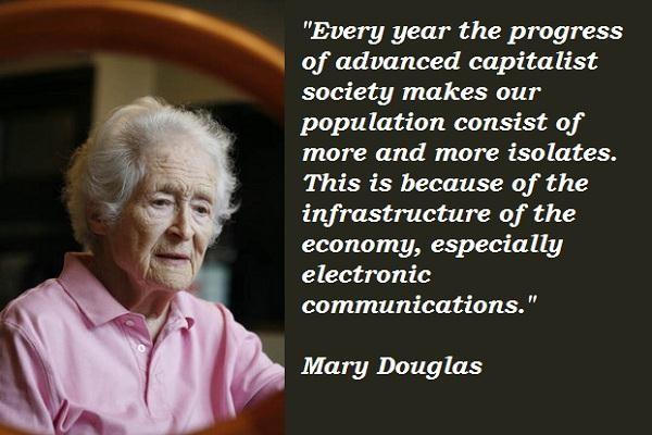 Mary Douglas's quote #2