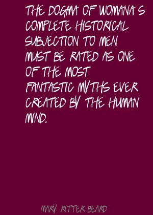 Mary Ritter Beard's quote #4