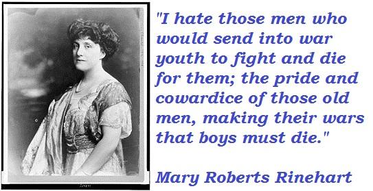 Mary Roberts Rinehart's quote #1