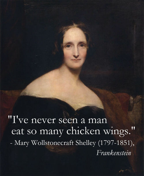 Mary Wollstonecraft Shelley's quote #1