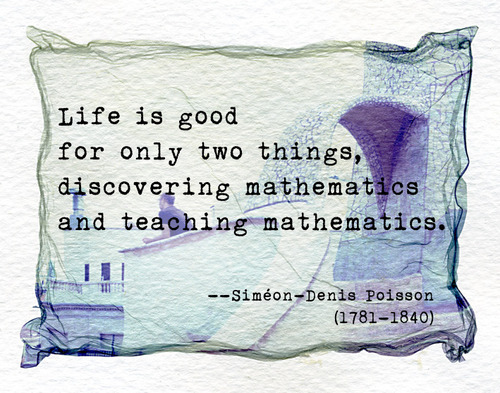 Mathematics quote