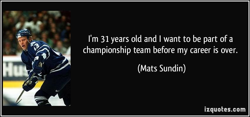 Mats Sundin's quote #2