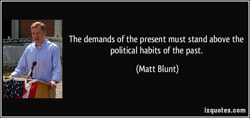 Matt Blunt's quote #5