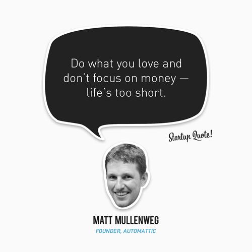 Matt Mullenweg's quote #1