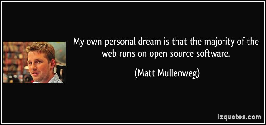 Matt Mullenweg's quote #5