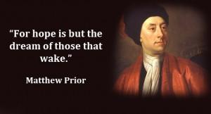 Matthew Prior's quote #4