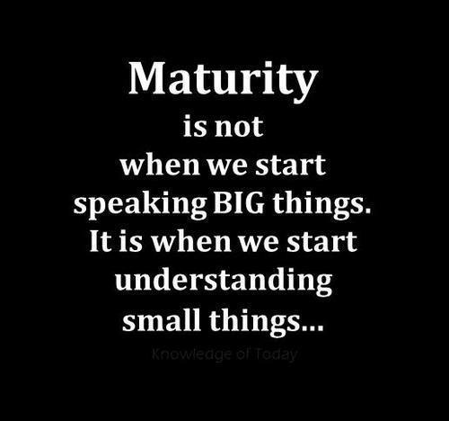 Matured quote #1