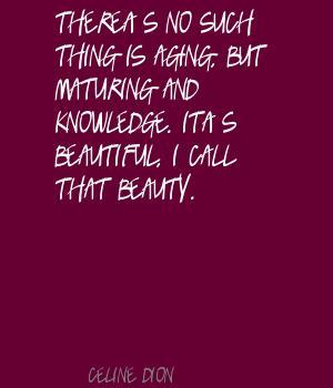 Maturing quote #2