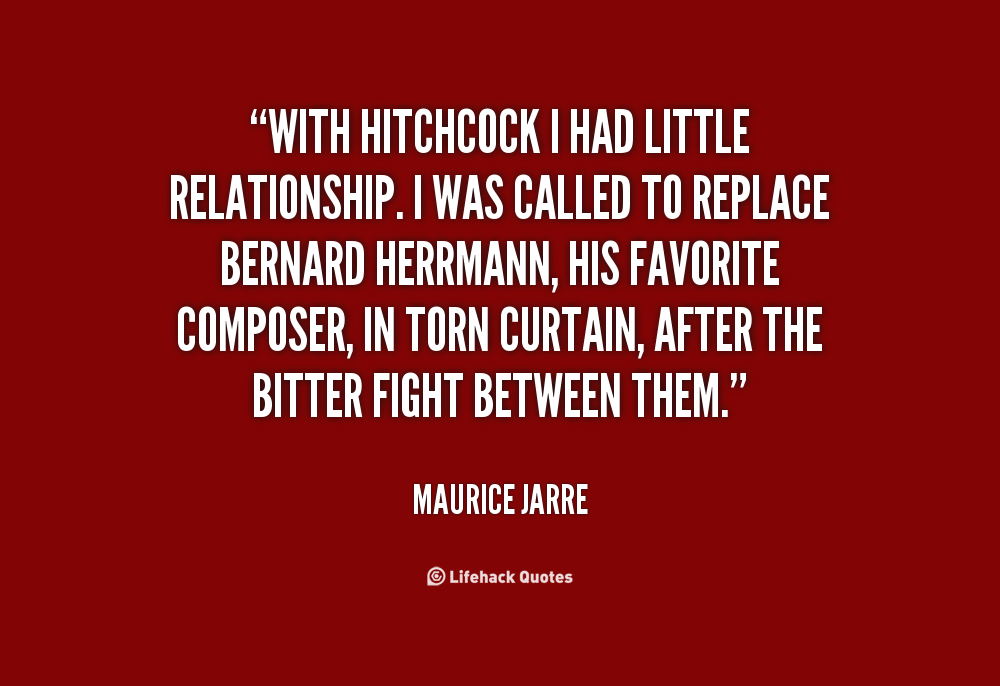 Maurice Jarre's quote #3
