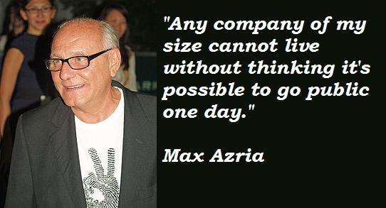 Max Azria's quote #3