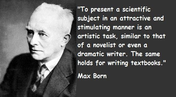 Max Born's quote #1