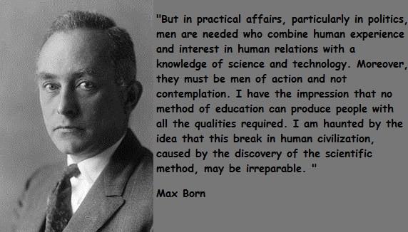 Max Born's quote #2