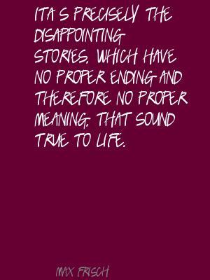 Max Frisch's quote