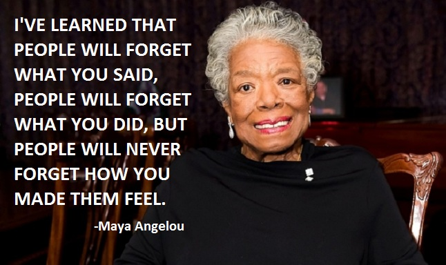 Maya Angelou quote #2