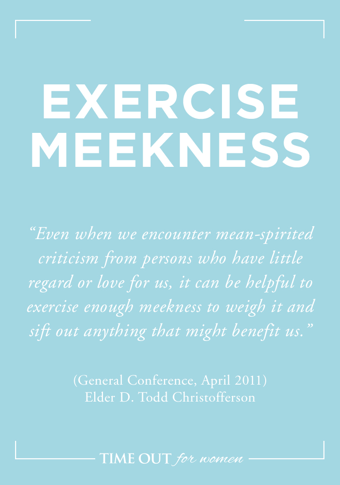 Meekness quote #2