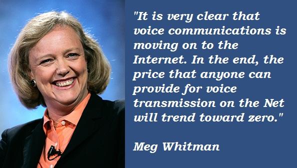 Meg Whitman's quote #1