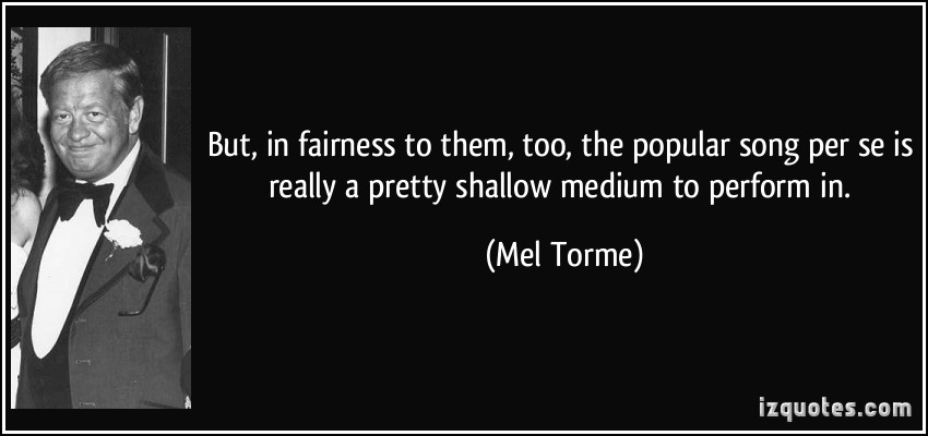 Mel Torme's quote #2